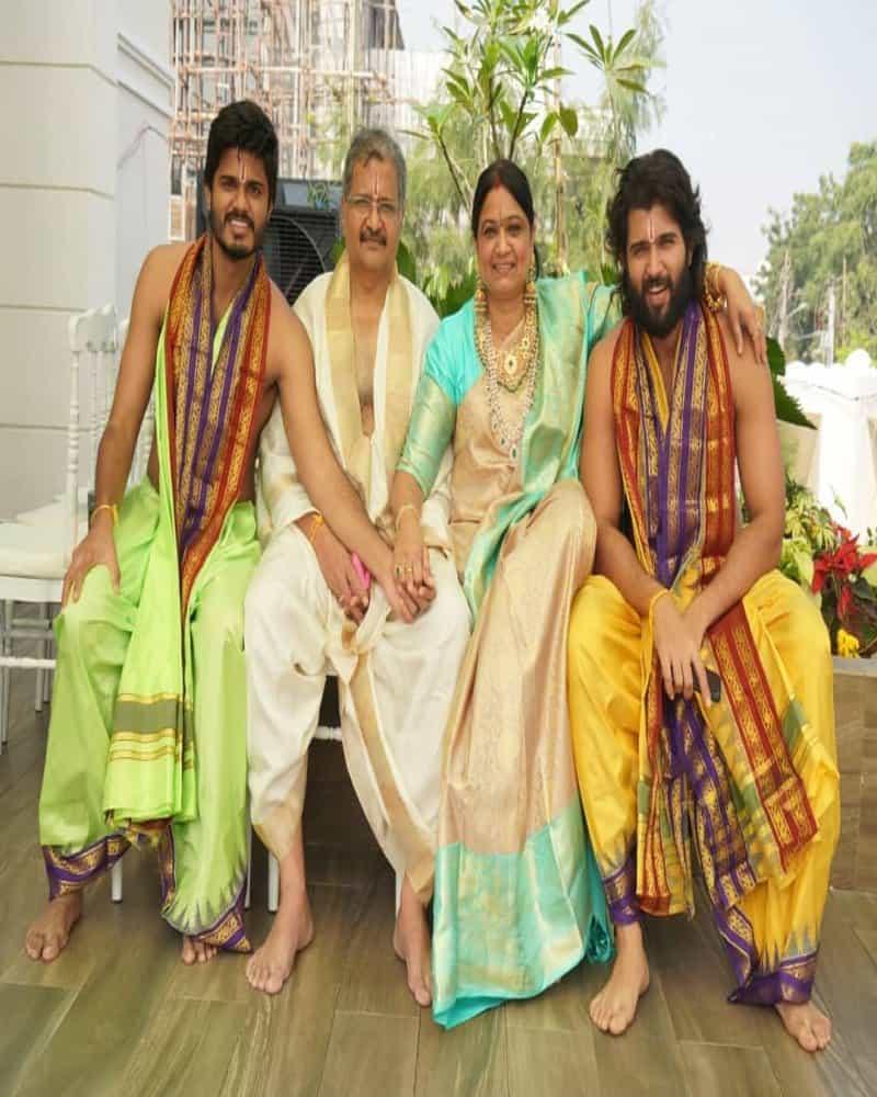 Vijay Deverakonda Family