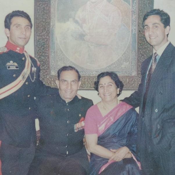 bikramjeet kanwarpal family