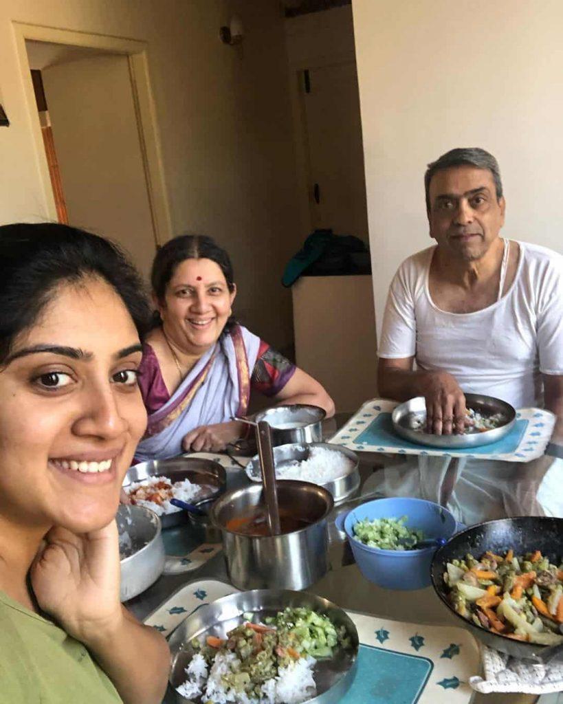 Dhanya Balakrishna Family