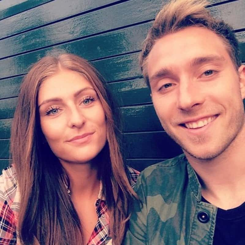 Christian Eriksen Girlfriend