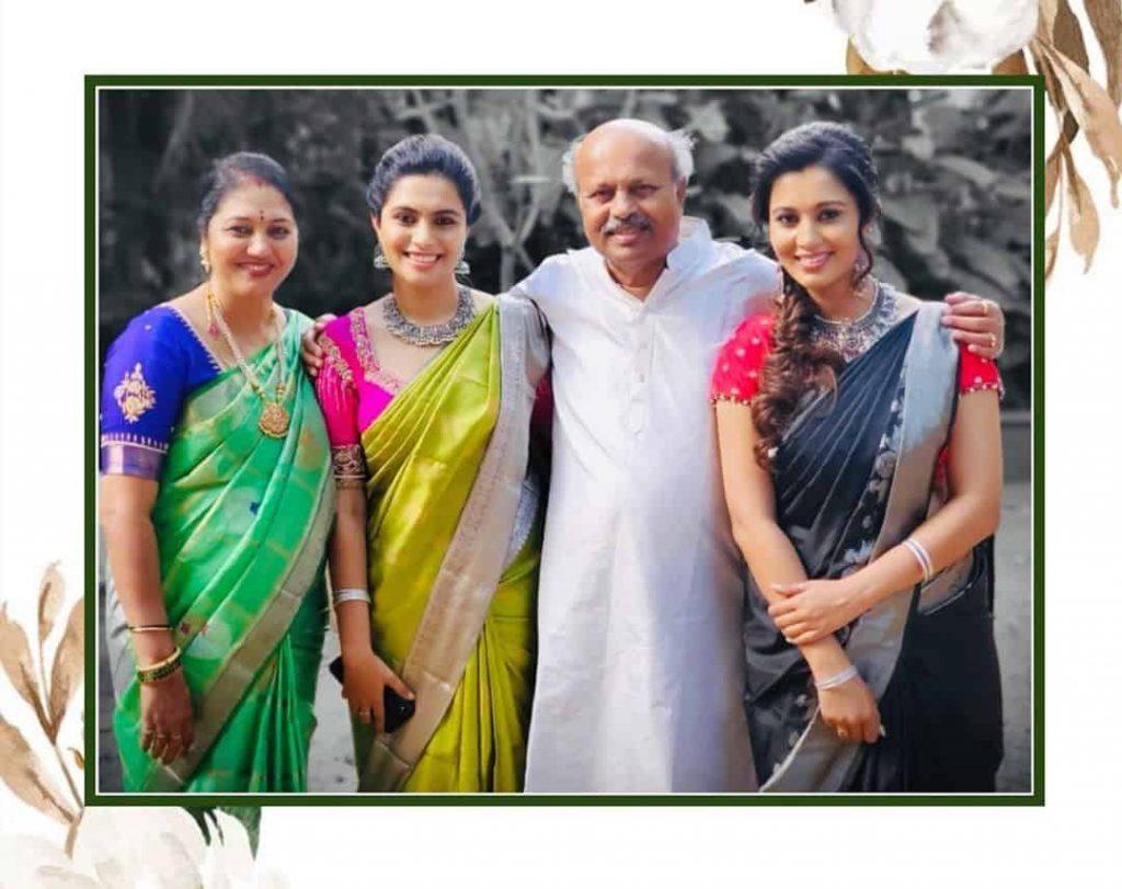 Sonu Gowda Family