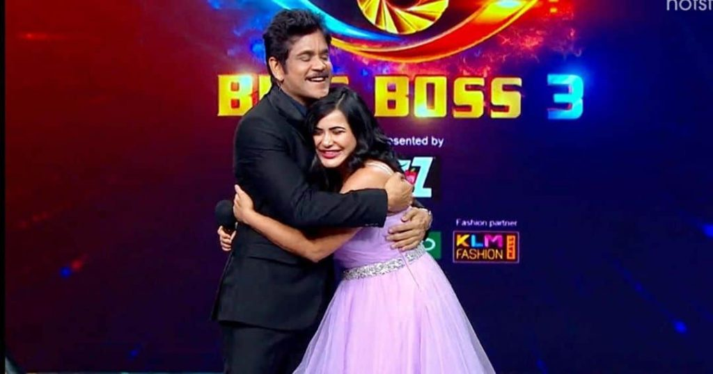 Ashu Reddy Bigg Boss Season 3