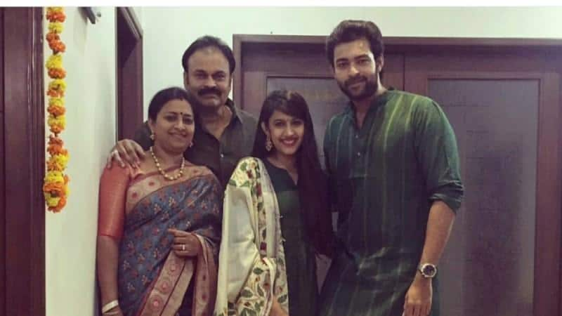 Varun Tej Family