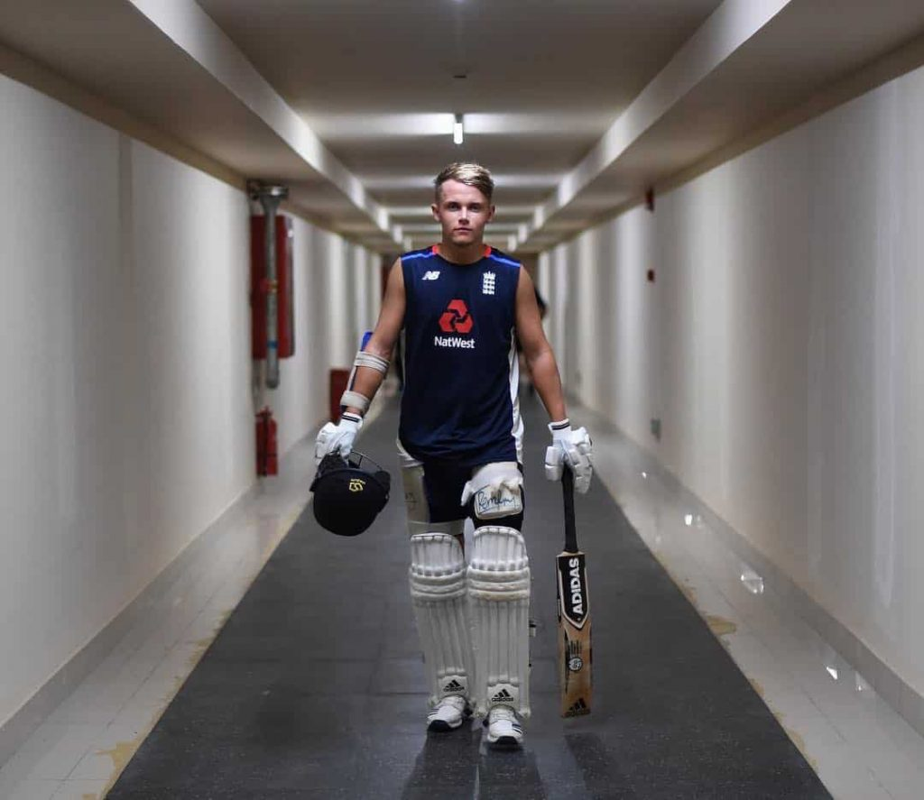 Sam Curran Height