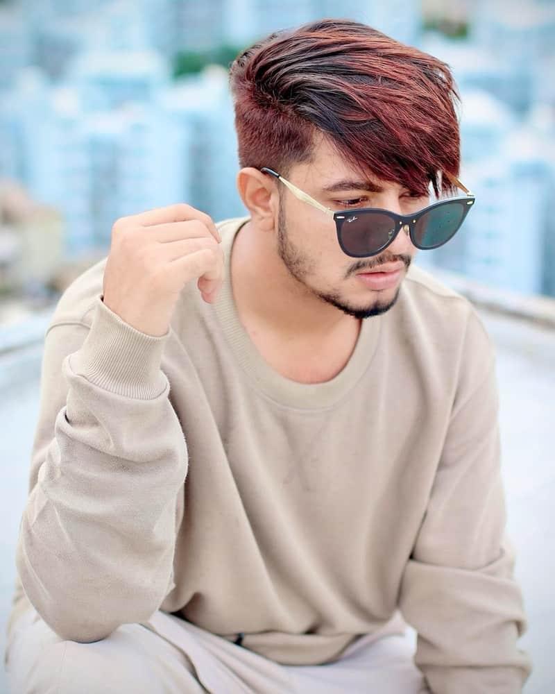 Aamir Arab hairstyle