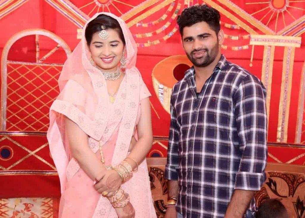 Pradeep Narwal Wife