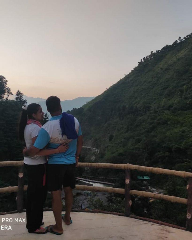 Swati Beniwal With Praddep Narwal