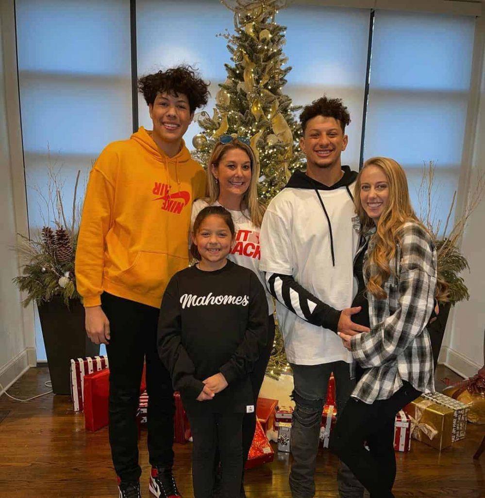 Jackson Mahomes Family