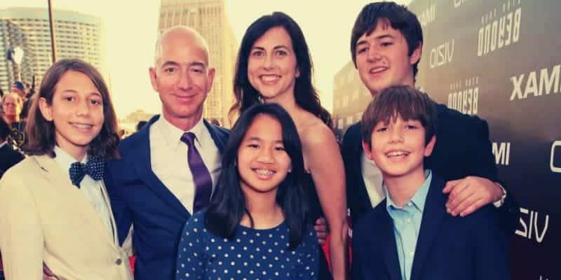 Preston Bezos Family